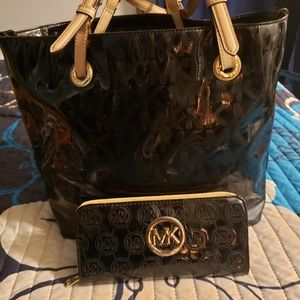 Gorgeous MK bag and wallet